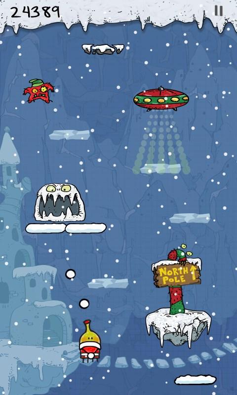 Doodle Jump Christmas Special - Imagem 1 do software