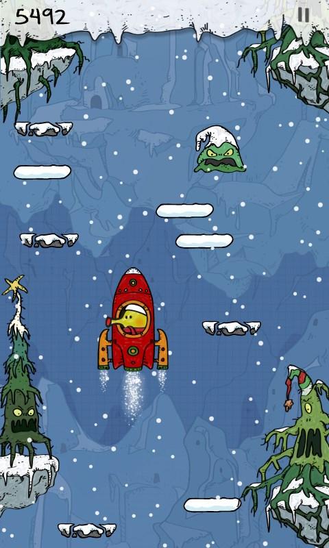 Doodle Jump Christmas Special - Imagem 2 do software