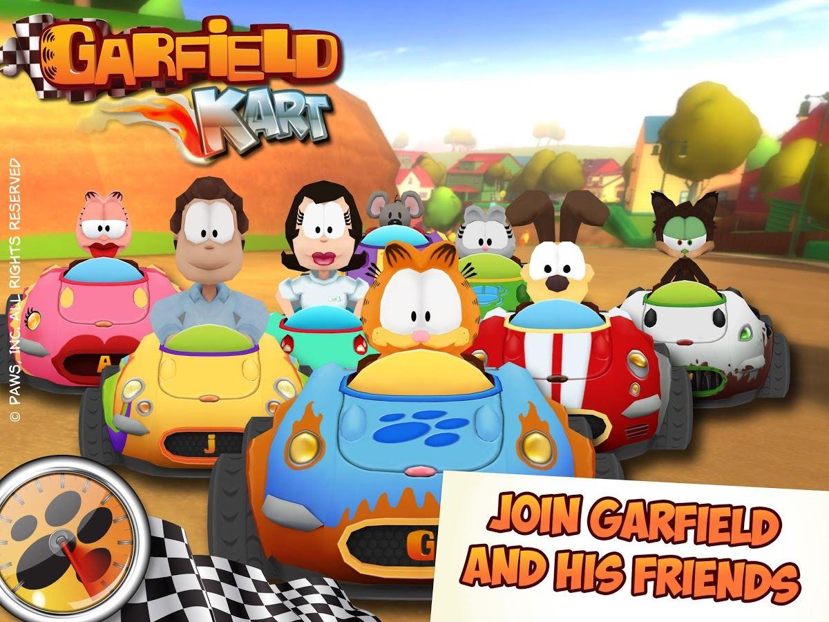 Garfield Kart - Imagem 1 do software