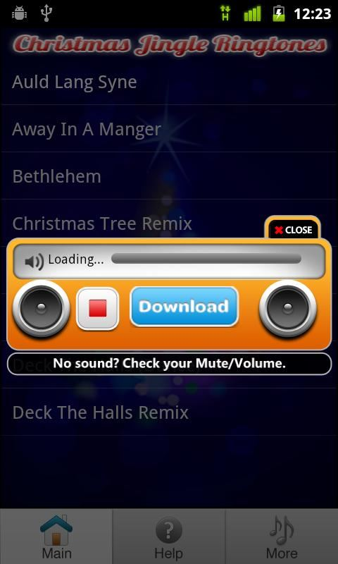 Christmas Ringtones - Imagem 1 do software