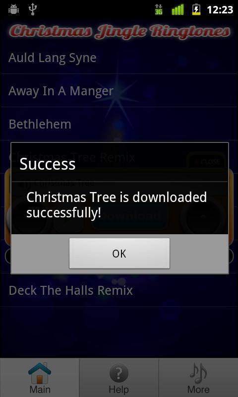 Christmas Ringtones - Imagem 2 do software