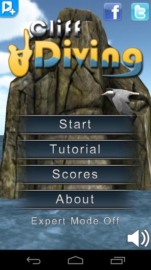 Cliff Diving 3D Livre - Imagem 1 do software