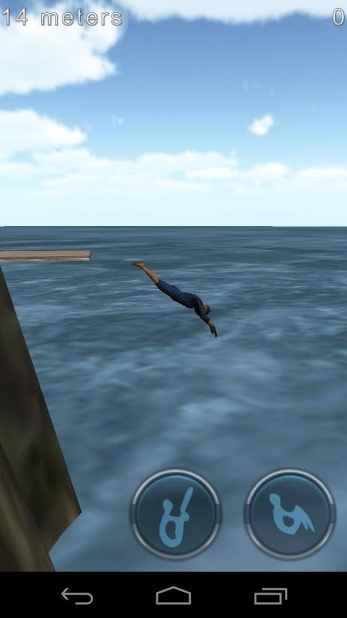 Cliff Diving 3D Livre - Imagem 2 do software