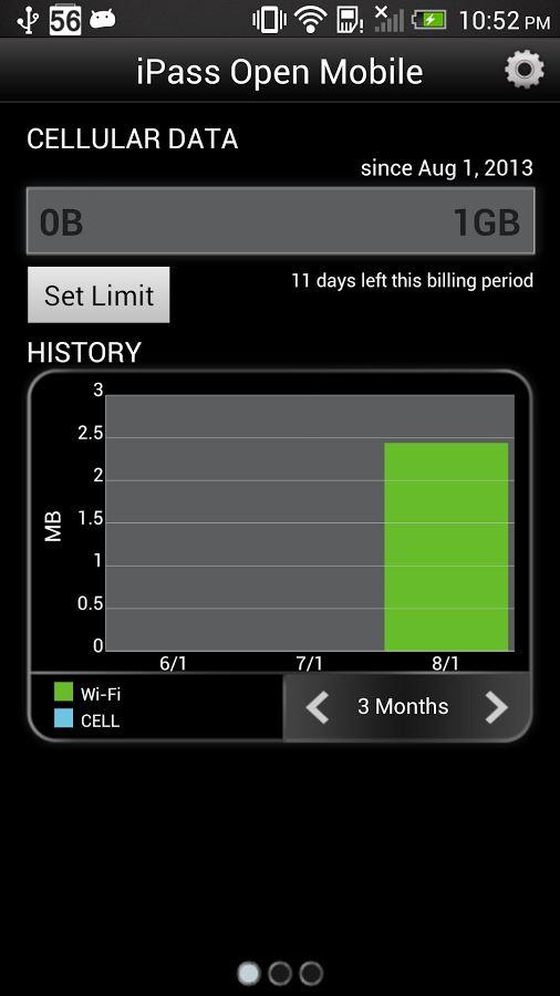 Open Mobile - Imagem 4 do software