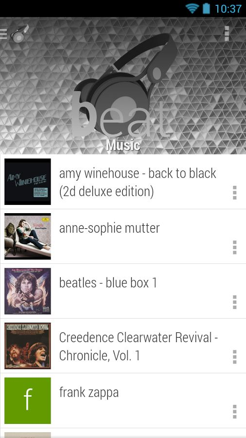 Beat - cloud & music player - Imagem 2 do software