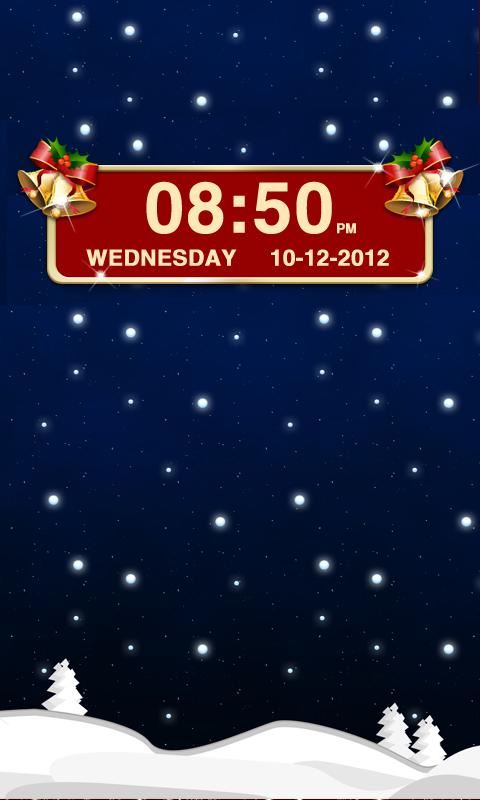 Christmas Clock Widget - Imagem 1 do software