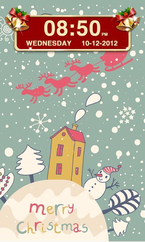 Christmas Clock Widget - Imagem 2 do software