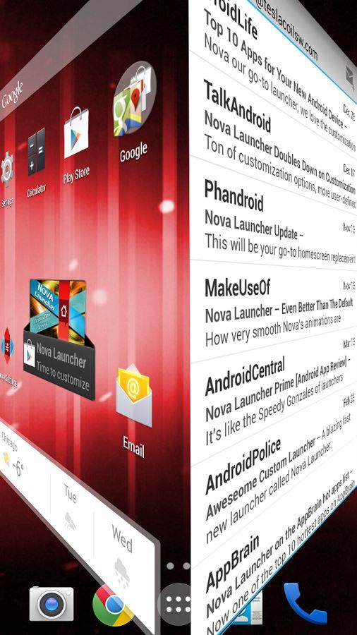 Nova Launcher Prime - Imagem 2 do software