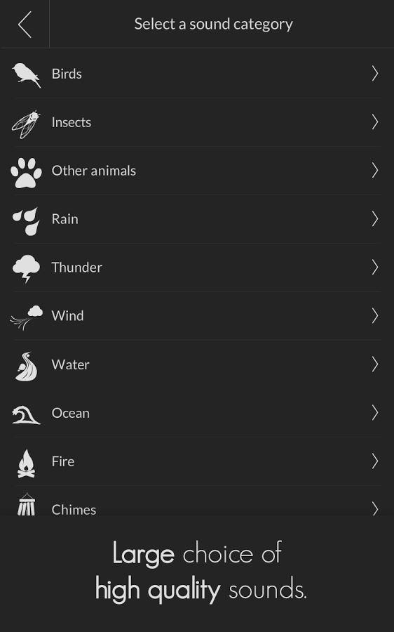 TaoMix – Relaxing Sounds Mixer - Imagem 2 do software