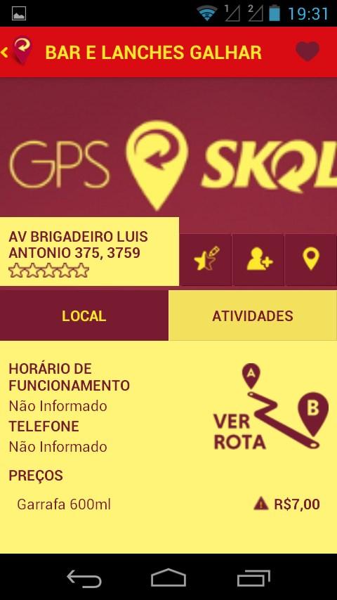 GPS Skol - Imagem 2 do software