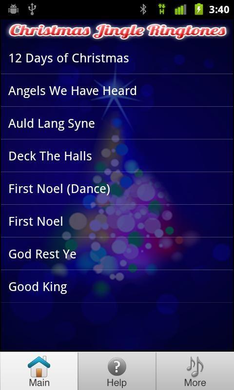 Free Christmas Ringtones - Imagem 1 do software