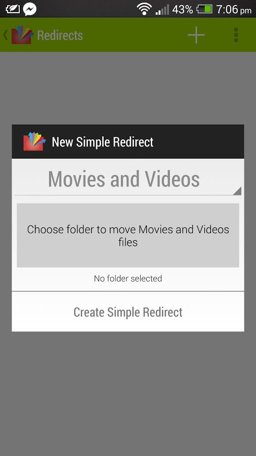 Redirect File Organizer Pro - Imagem 1 do software