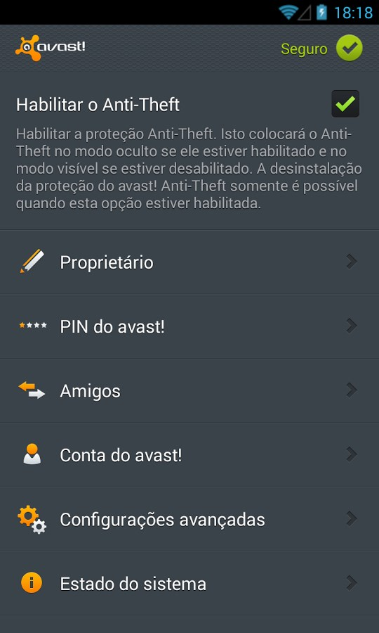 avast! Anti-Theft - Imagem 1 do software
