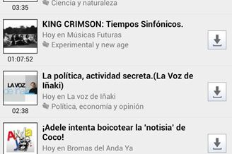 iVoox Download para Android Grátis