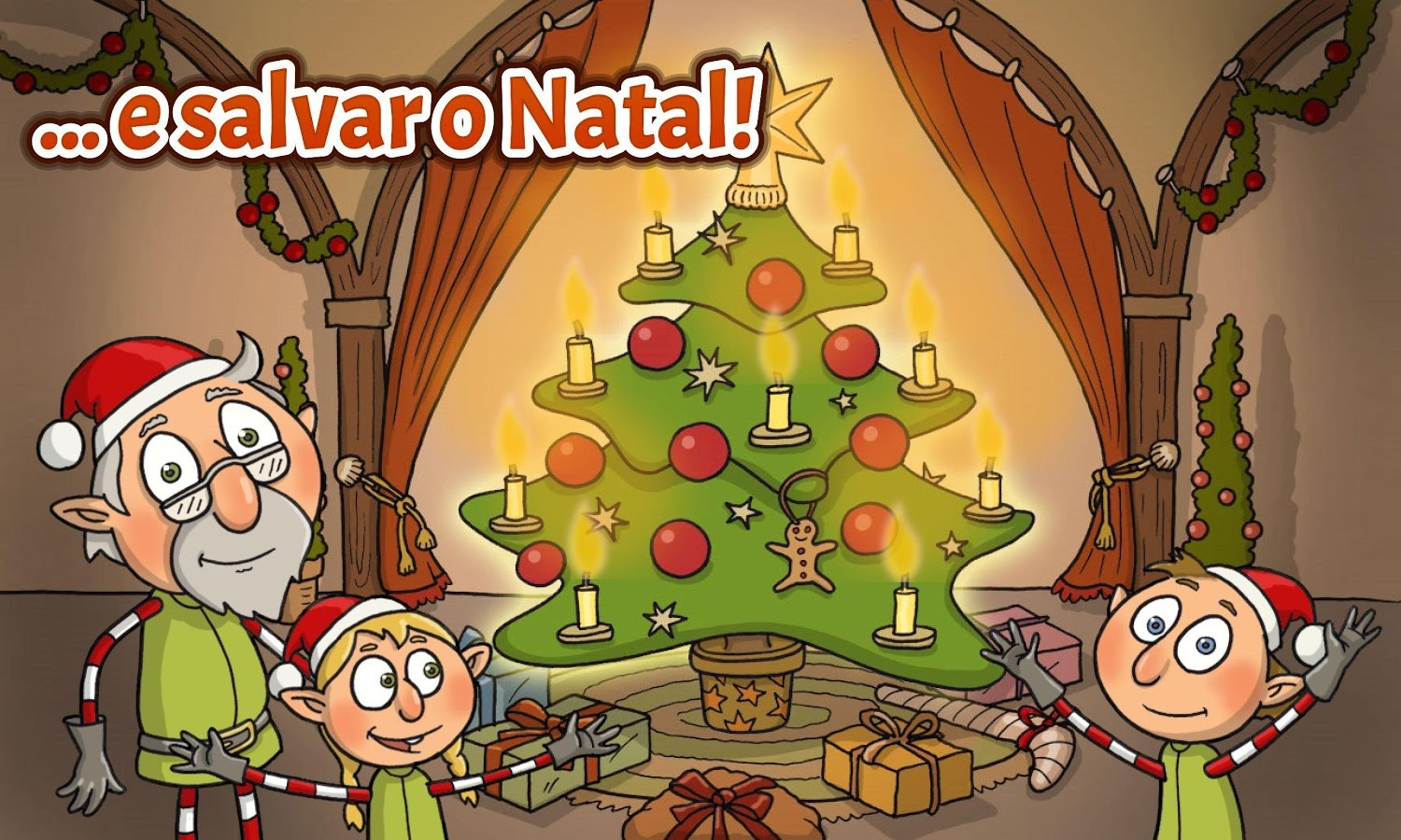 Elf Adventure Christmas Free - Imagem 1 do software