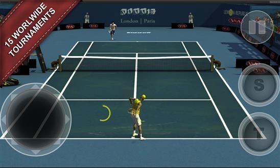 Cross Court Tennis 2 - Imagem 1 do software
