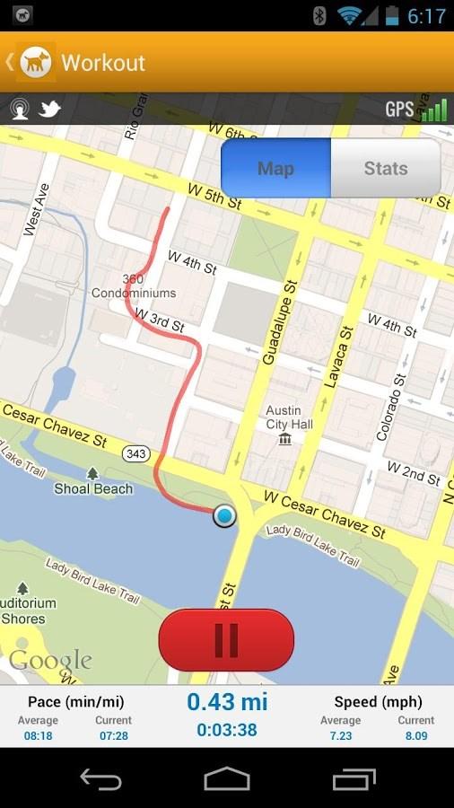 MapMyDogWalk - Imagem 1 do software