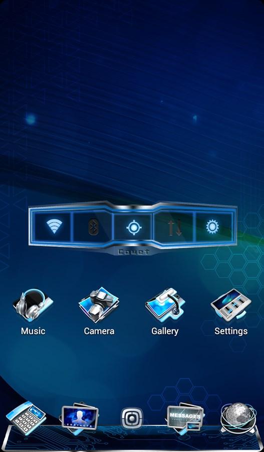 COMET 3D LAUNCHER PRIME - Imagem 2 do software