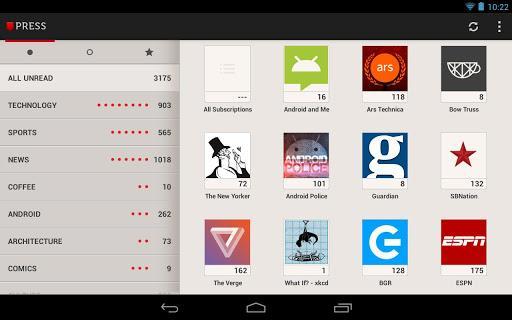 Press (Google Reader) - Imagem 3 do software