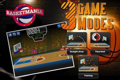 Basketmania: Basketball game - Imagem 1 do software