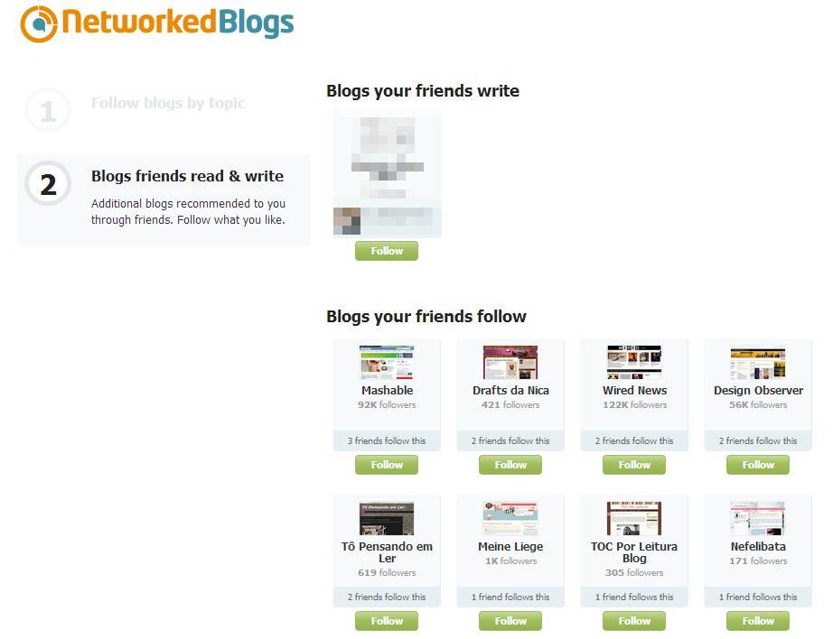 NetworkedBlogs - Imagem 1 do software