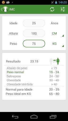 BMI Calculator - Ideal Weight - Imagem 2 do software