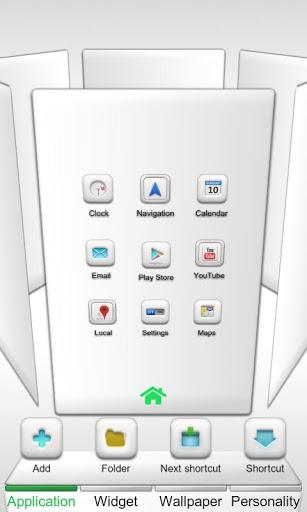 Pure Next Launcher 3D Theme - Imagem 1 do software