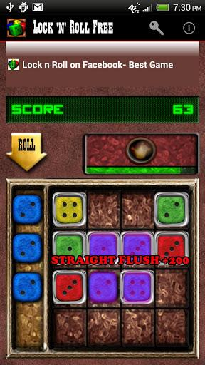 Lock ´n´ Roll Free - Dice Game - Imagem 1 do software
