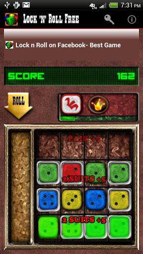 Lock ´n´ Roll Free - Dice Game - Imagem 2 do software