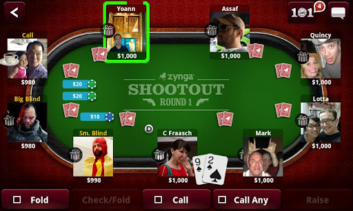 Zynga Poker - Imagem 2 do software