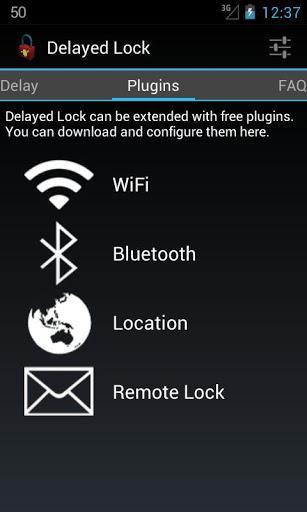 Delayed Lock - Imagem 2 do software