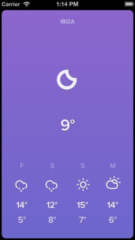 Sky - Minimal Weather - Imagem 2 do software