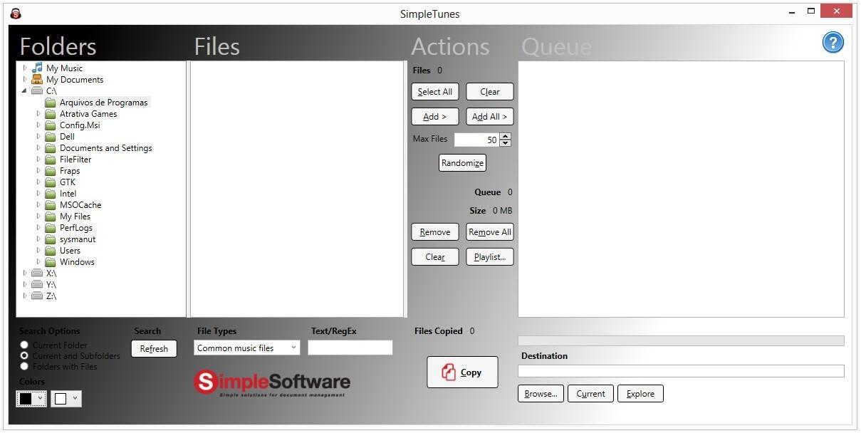 SimpleTunes - Imagem 1 do software