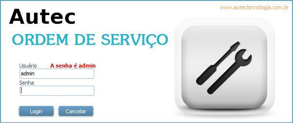 Autec Ordem de Serviço - Imagem 1 do software