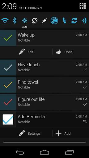 Notable: Quick Reminder - Imagem 2 do software