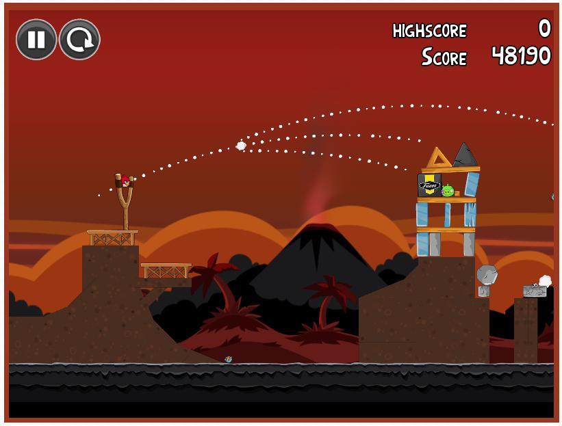Angry Birds Volcano - Imagem 1 do software