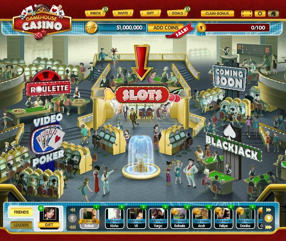 GameHouse Casino - Imagem 1 do software
