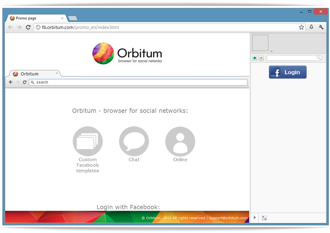 Orbitum - Imagem 1 do software