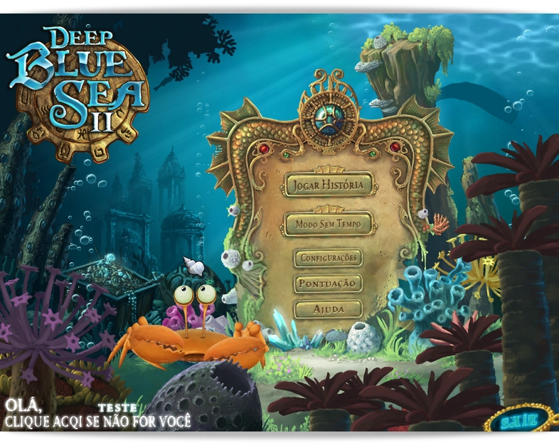 Deep Blue Sea 2: The Amulet of Light Deluxe - Imagem 1 do software