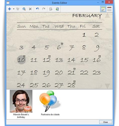Holiline Reminder - Imagem 1 do software