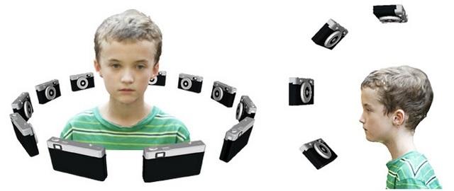 Fotografe todos os ângulos do objeto ou pessoa