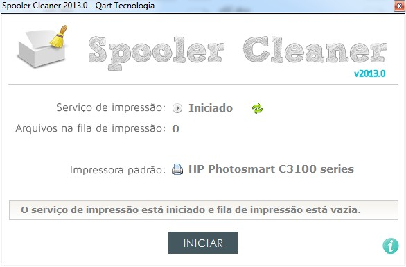 Spooler Cleaner - Imagem 1 do software