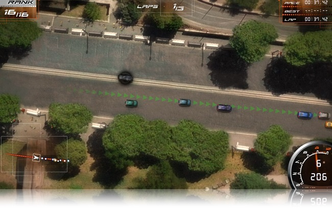 Real World Racing - Imagem 1 do software