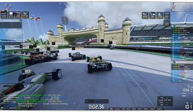 TrackMania² Stadium - Imagem 2 do software
