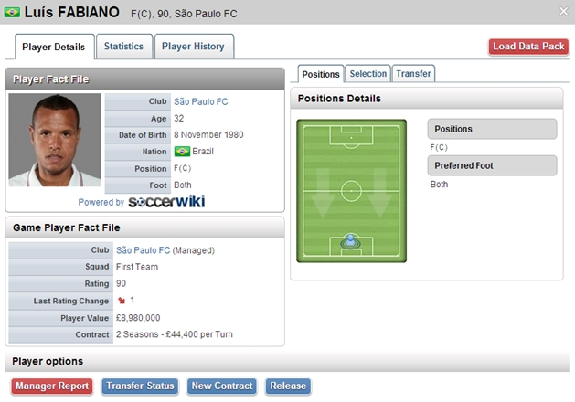 SoccerManager 2013.