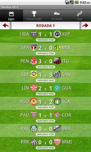 b1a3c18756447 Campeonato Paulista 2013 Download para Android em Português Grátis