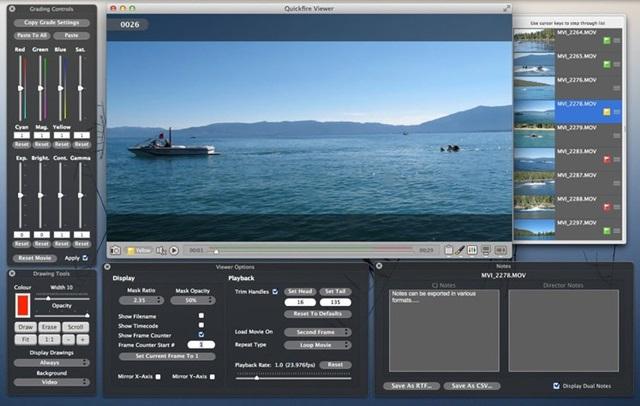 Quickfire - Imagem 2 do software