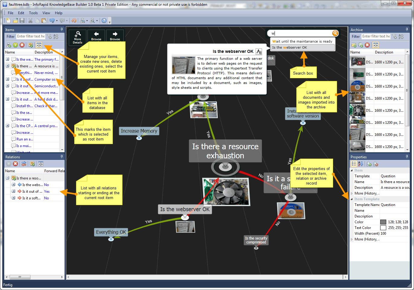 InfoRapid KnowledgeBase Builder - Imagem 1 do software