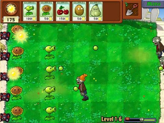 Plants vs Zombies Online - Imagem 1 do software