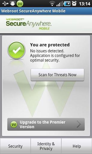 Webroot Security & Antivirus - Imagem 1 do software